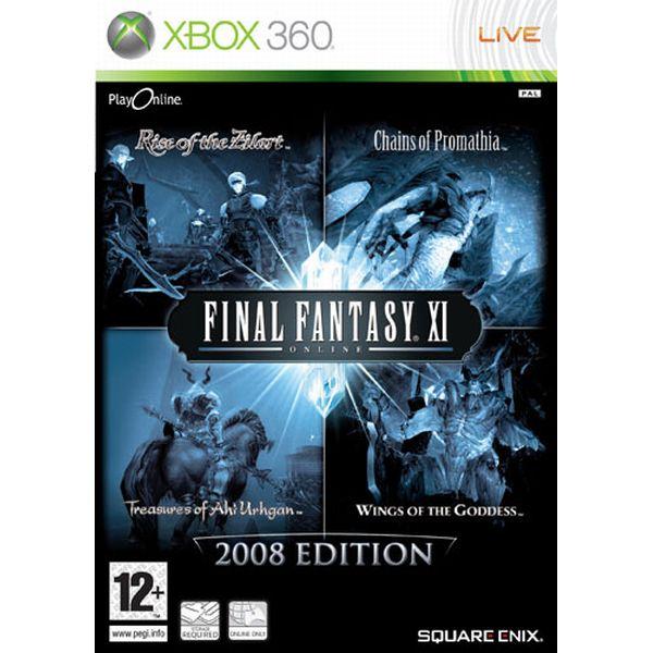 Final Fantasy 11 Online (2008 Edition) XBOX 360