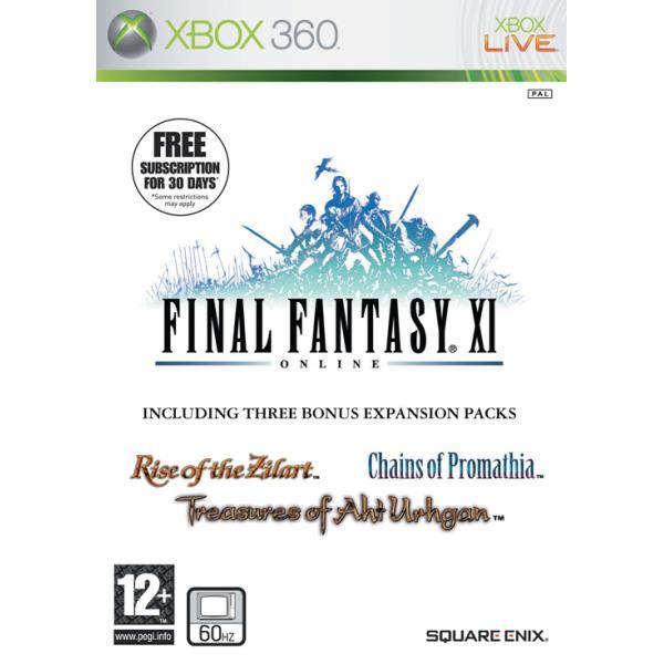 Final Fantasy 11 Online XBOX 360