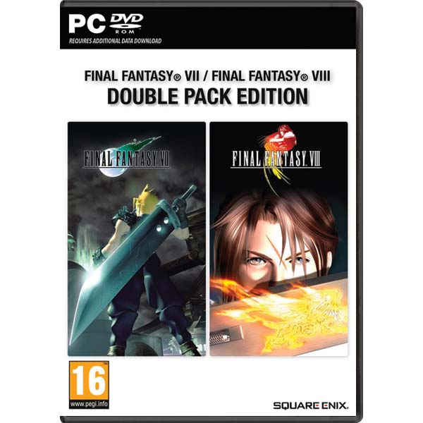 Final Fantasy 7 / Final Fantasy 8 (Double Pack Edition)