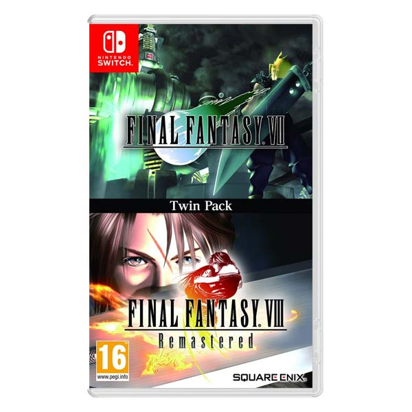 Final Fantasy 7 & Final Fantasy 8 Remastered (Twin Pack)