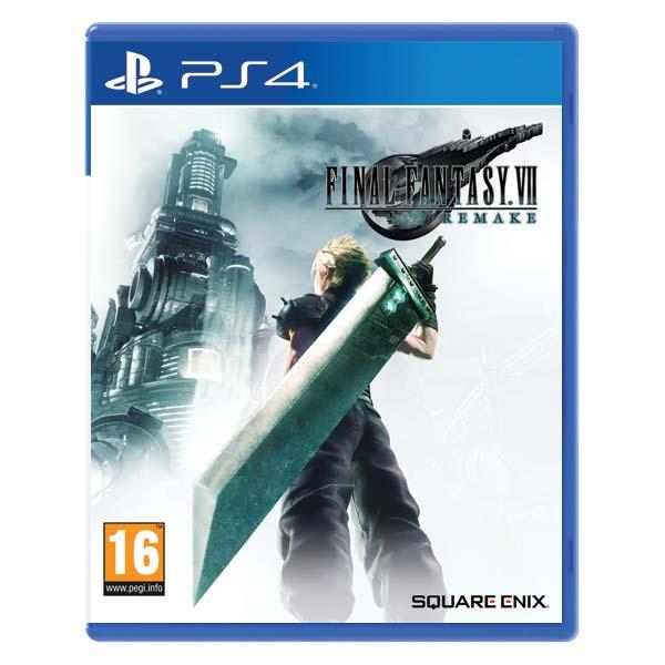 Final Fantasy 7: Remake [PS4] - BAZÁR (použitý tovar)