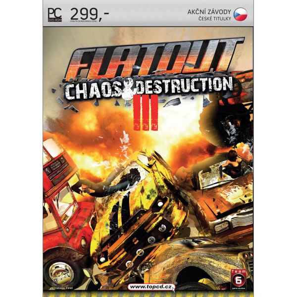 FlatOut 3: Chaos & Destruction CZ