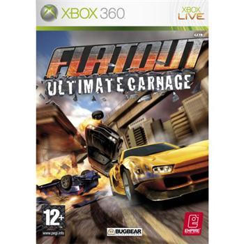 FlatOut: Ultimate Carnage [XBOX 360] - BAZÁR (použitý tovar)