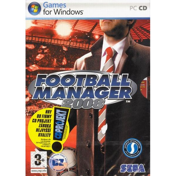 Football Manager 2008 CZ