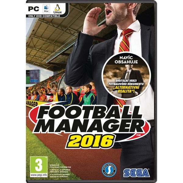 Football Manager 2016 CZ