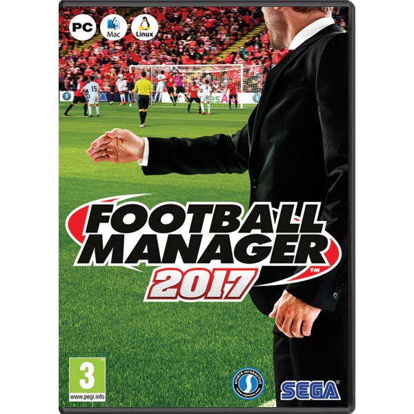 Football Manager 2017 CZ