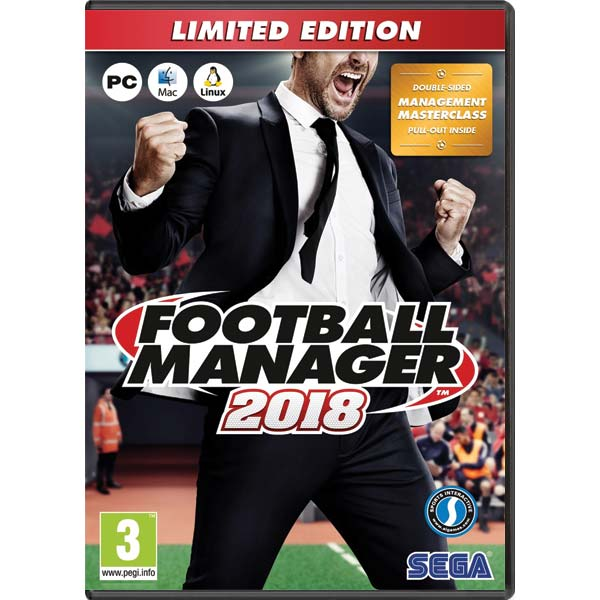 Football Manager 2018 CZ (Limited Edition)