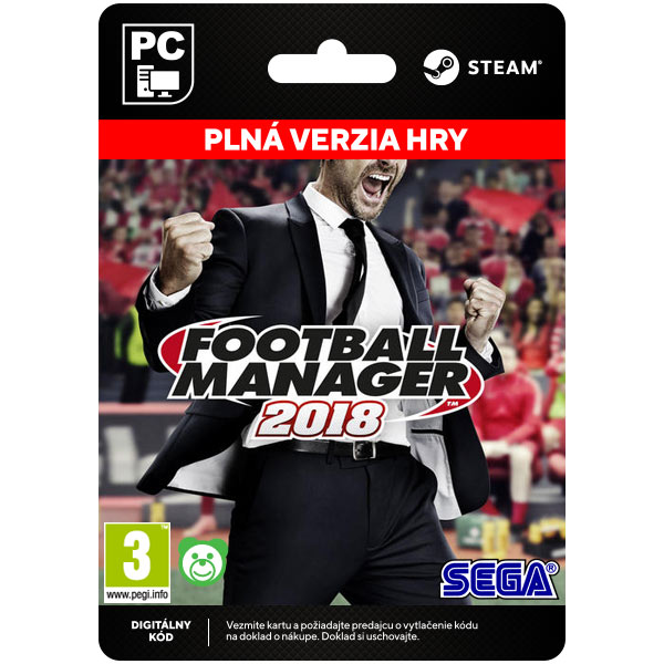 Football Manager 2018 [Steam]