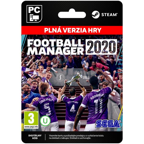 Football Manager 2020 [Steam]