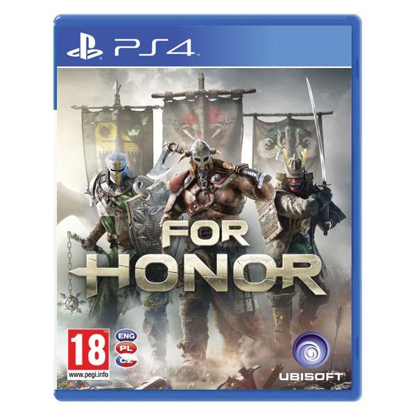 For Honor CZ [PS4] - BAZÁR (použitý tovar)