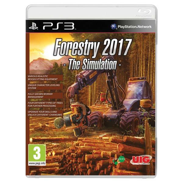 Forestry 2017: The Simulation [PS3] - BAZÁR (použitý tovar)