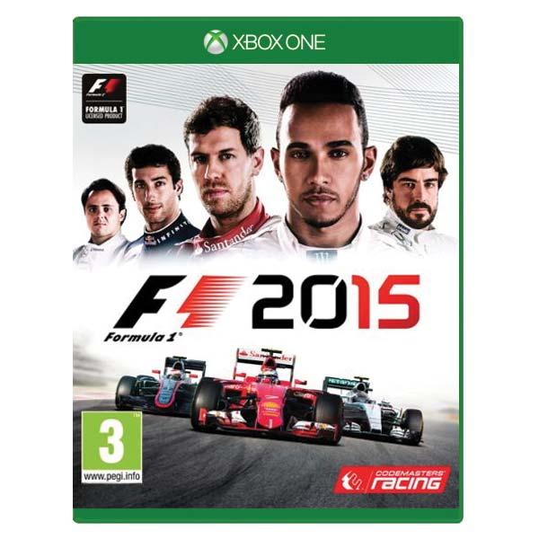 Formula 1 2015 [XBOX ONE] - BAZÁR (použitý tovar)