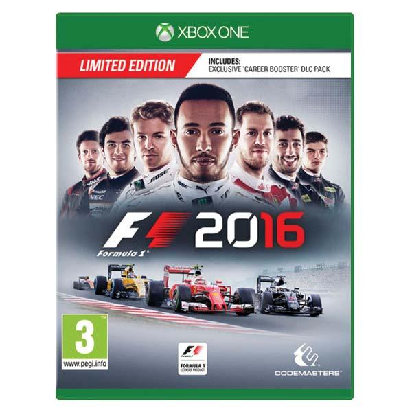 Formula 1 2016 (Limited Edition) [XBOX ONE] - BAZÁR (použitý tovar)