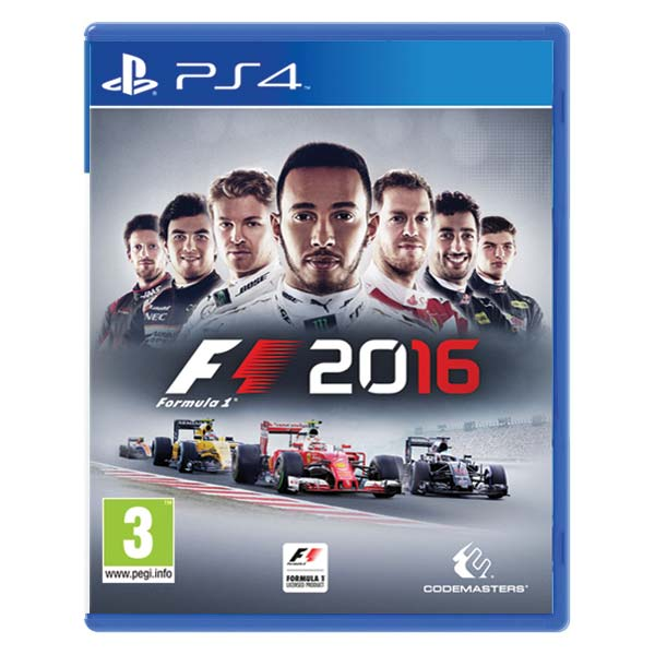 Formula 1 2016 (Limited Edition) [PS4] - BAZÁR (použitý tovar)