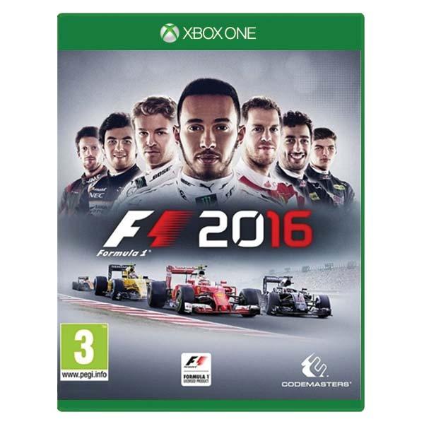 Formula 1 2016 XBOX ONE