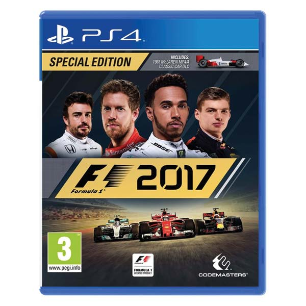 formula 1 2017 special edition ps4. Black Bedroom Furniture Sets. Home Design Ideas