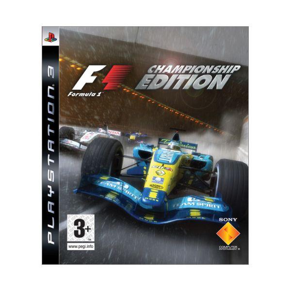 Formula 1 (Championship Edition) [PS3] - BAZÁR (použitý tovar)