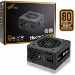 Fortron ATX Zdroj HYDRO HD600, 600W APFC, 120mm fan, 80+ Bronze, black