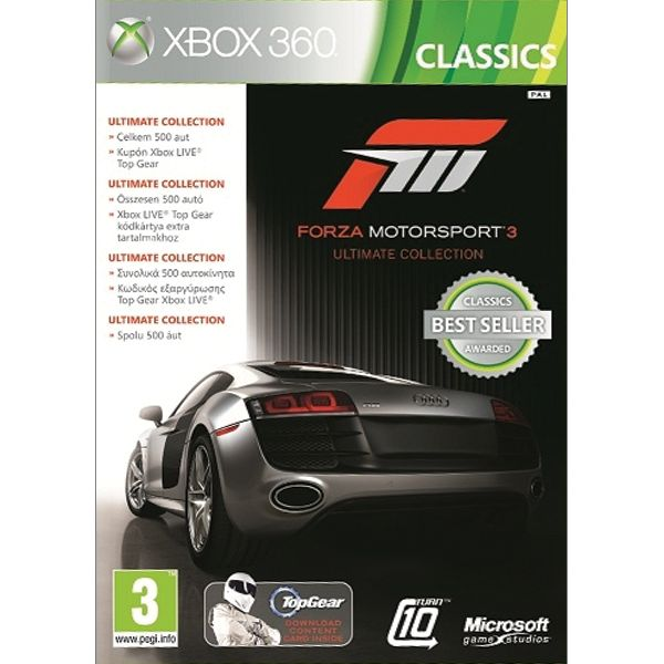 Forza Motorsport 3 CZ (Ultimate Collection)