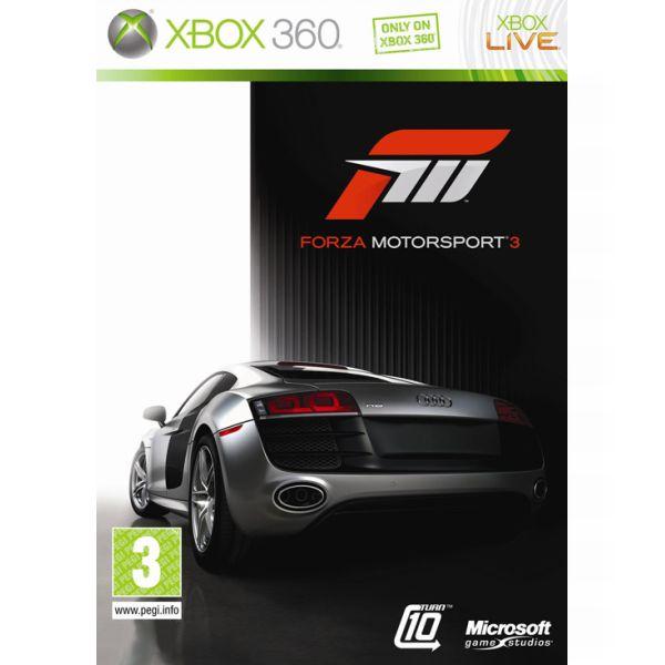 Forza Motorsport 3 - XBOX 360- BAZÁR (použitý tovar)