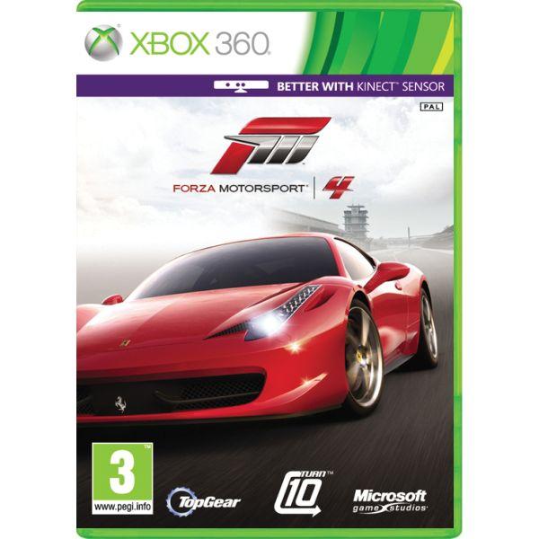 Forza Motorsport 4 CZ XBOX 360
