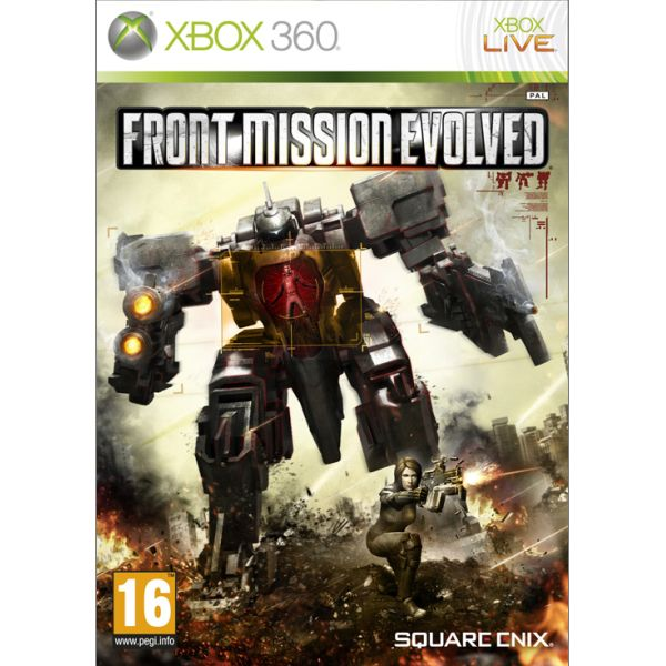 Front Mission Evolved [XBOX 360] - BAZÁR (použitý tovar)