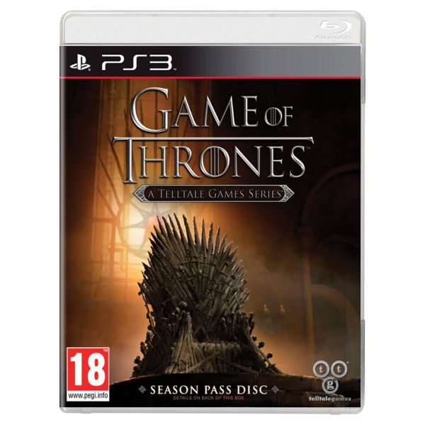 Game of Thrones: A Telltale Games Series PS3