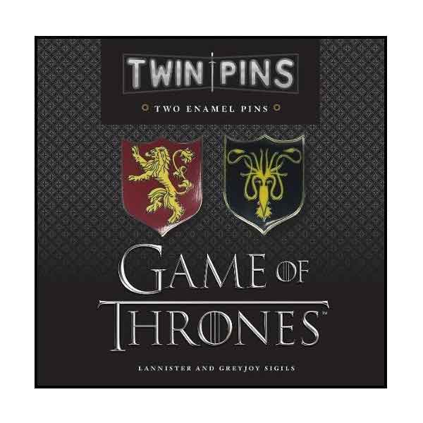 Game of Thrones Odznaky Lannister and Greyjoy Sigils (2-Pack) CH164557