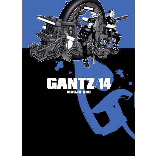 Gantz 14 komiks