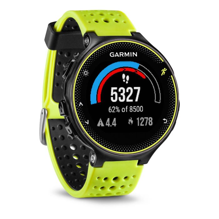 Garmin Forerunner 230, Yellow & Black Bundle