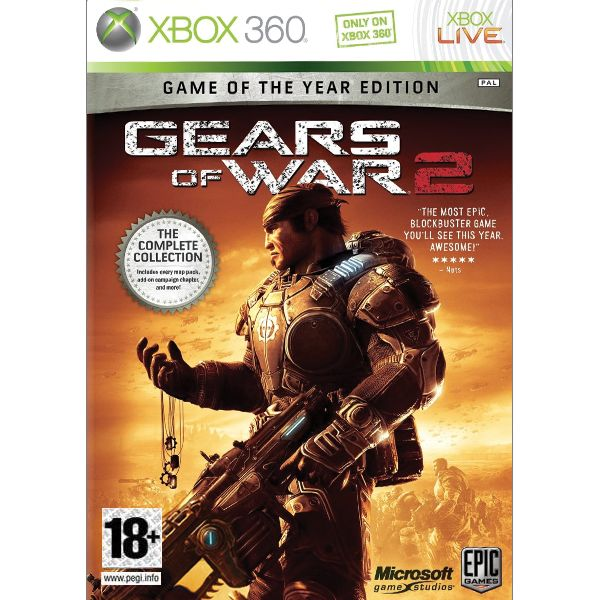 Gears of War 2 CZ (Game of the Year Edition) XBOX 360