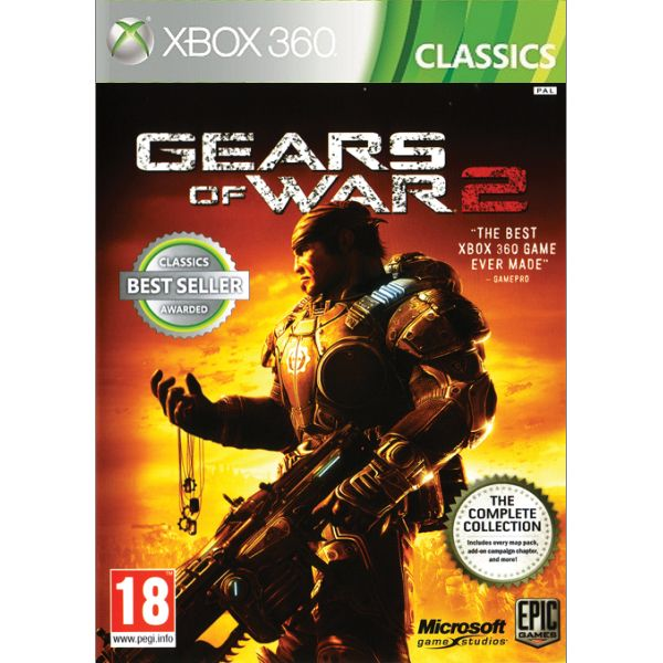 Gears of War 2 CZ XBOX 360