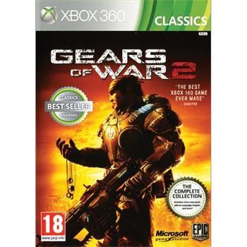 Gears of War 2- XBOX 360- BAZÁR (použitý tovar)