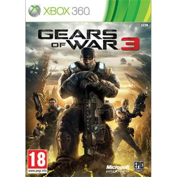 Gears of War 3 +Steelbook - XBOX 360- BAZ�R (pou�it� tovar)