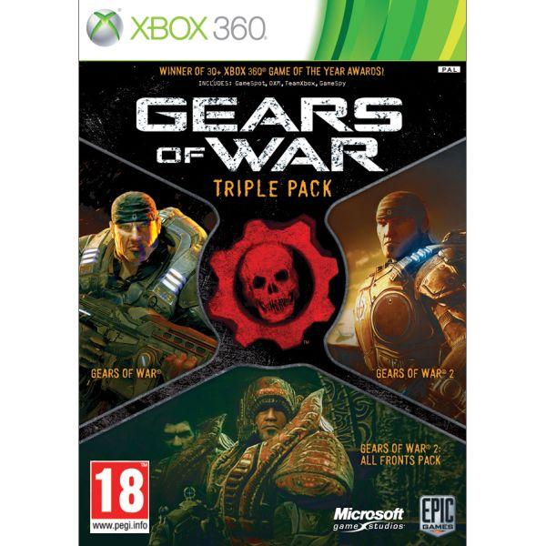 Gears of War Triple Pack XBOX 360