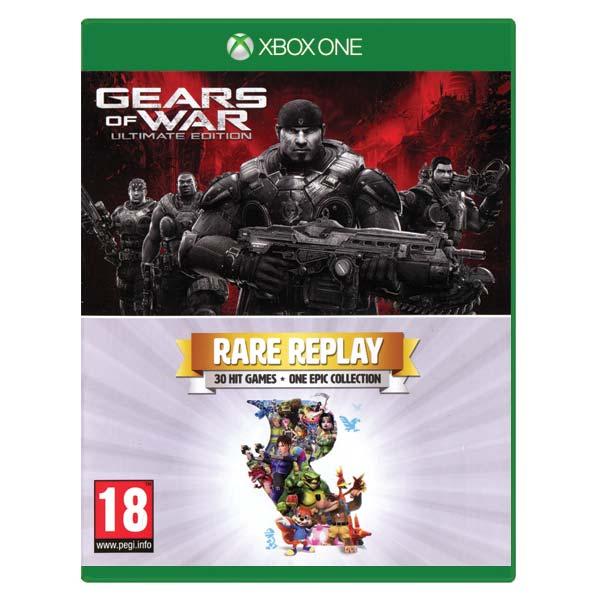 Gears of War (Ultimate Edition) + Rare replay [XBOX ONE] - BAZÁR (použitý tovar)