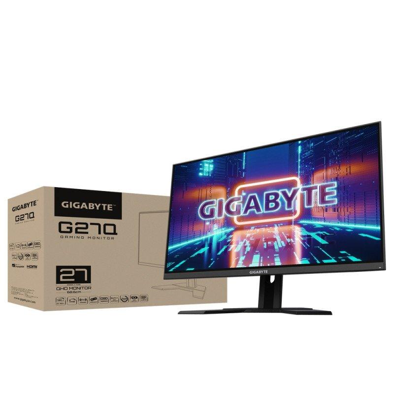 "Gigabyte 27"" G27Q Gaming Monitor, 144Hz, IPS, plochy, QHD G27Q-EK"