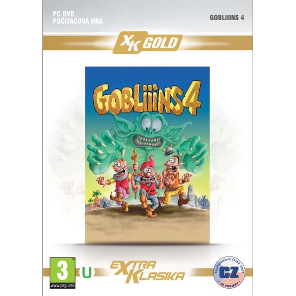 Gobliiins 4 CZ PC