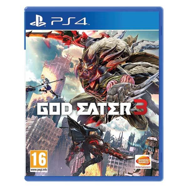 God Eater 3 [PS4] - BAZÁR (použitý tovar)