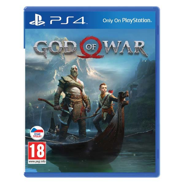 God of War CZ [PS4] - BAZÁR (použitý tovar)