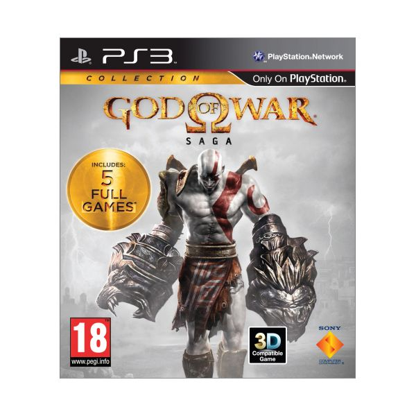 God of War Saga [PS3] - BAZÁR (použitý tovar)