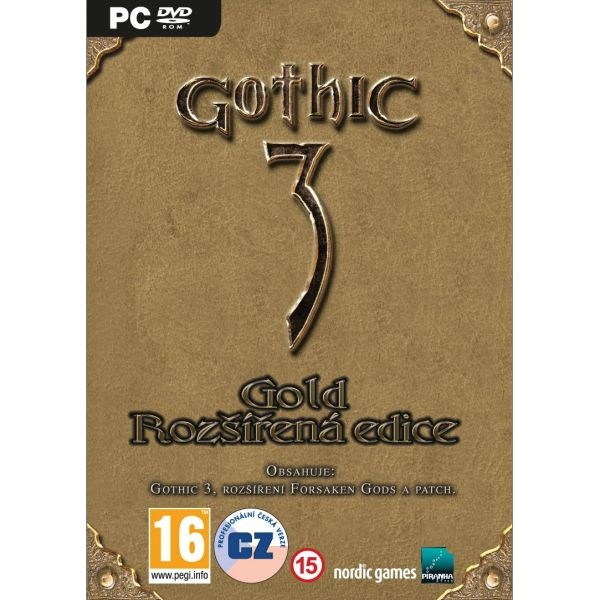 Gothic 3 Gold CZ (Rozšírená edícia)
