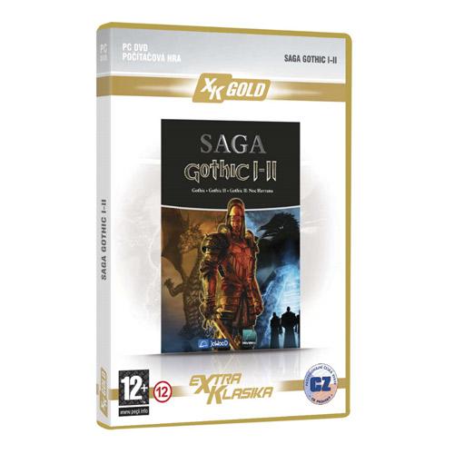 Gothic Saga I-II CZ (XK GOLD)