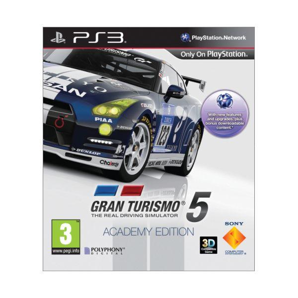 Gran Turismo 5 (Academy Edition)- PS3 - BAZÁR (použitý tovar)
