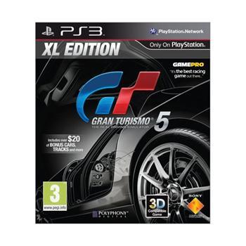 Gran Turismo 5 (XL Edition) [PS3] - BAZÁR (použitý tovar)