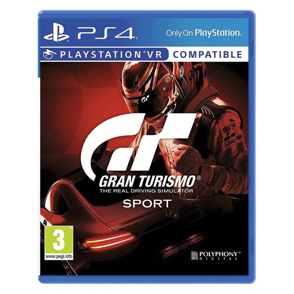 Gran Turismo Sport CZ [PS4] - BAZÁR (použitý tovar)