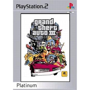 Grand Theft Auto 3 [PS2] - BAZÁR (použitý tovar)