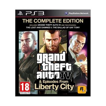Grand Theft Auto 4 & Episodes from Liberty City (The Complete Edition)-PS3 - BAZ�R (pou�it� tovar)