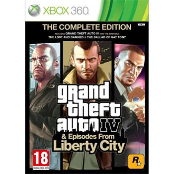 Grand Theft Auto 4 & Episodes from Liberty City (The Complete Edition)- XBOX 360- BAZÁR (použitý tovar)