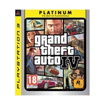 Grand Theft Auto 4 PS3 - BAZÁR (použitý tovar)